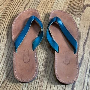 Leather Flip Flops made in Greece!!